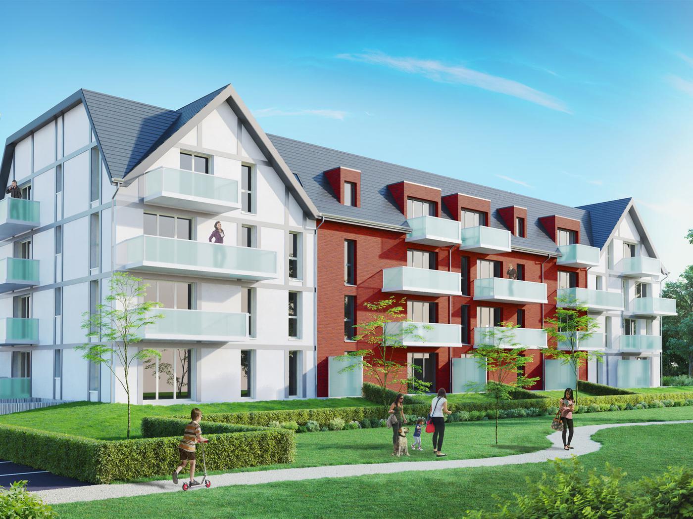Frelinghem achat appartement 45 m2 frelinghien (59236), 2 pièces
