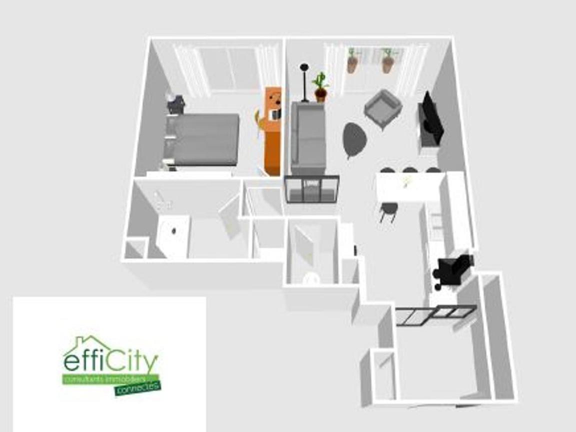 Achat Appartement 50 M2 Tours 37000 2 Pieces